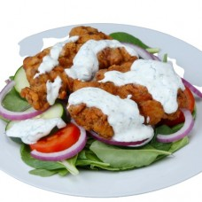Fried chicken salad and sauce (5 und.)